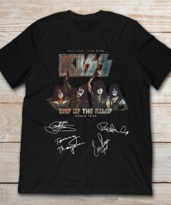 The Final Tour Ever Kiss End Of The Road World Tour Signature