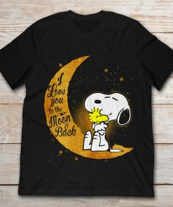 Snoopy And Woodstock I Love You To The Moon And Back