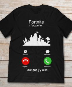 Phone Calling Screen Fortnite M'appelle Faut Que J'y Aille