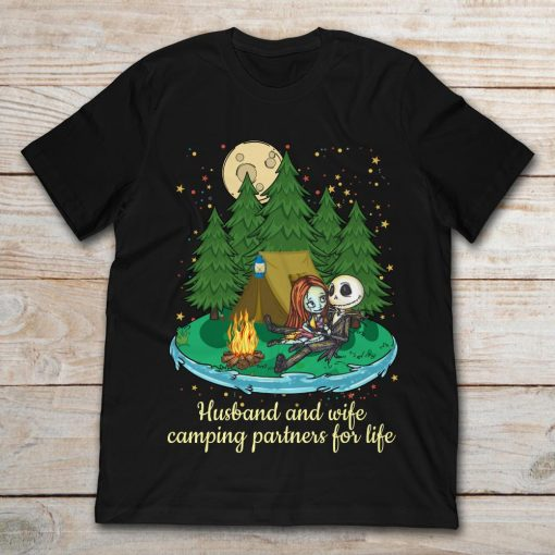 Jack Skellington And Sally Husband And Wife Camping Partners For Life