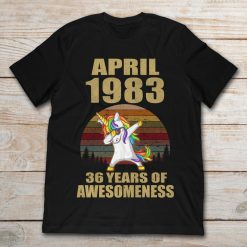 Dabbing Unicorn April 1983 36 Years Of Awesomeness Vintage