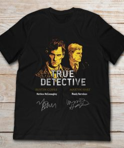 Rustin Cohle And Martin Hart True Detective Signature
