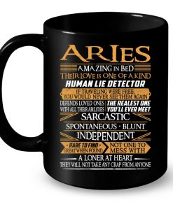 Aries Amazing In Bed Their Love Is One Of A Kind Human Lie Detector Mug
