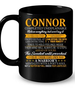 Connor Completely Unexplainable Notices everything But Won't Say It Mug