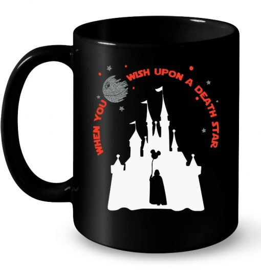 When You Wish Upon A Death Star Disney Star Wars Mug