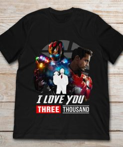 Ironman And Daughter I Love You Three ThouSand
