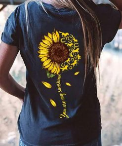 You Are My Sunshine Sunflower With Horses And Horseshoe