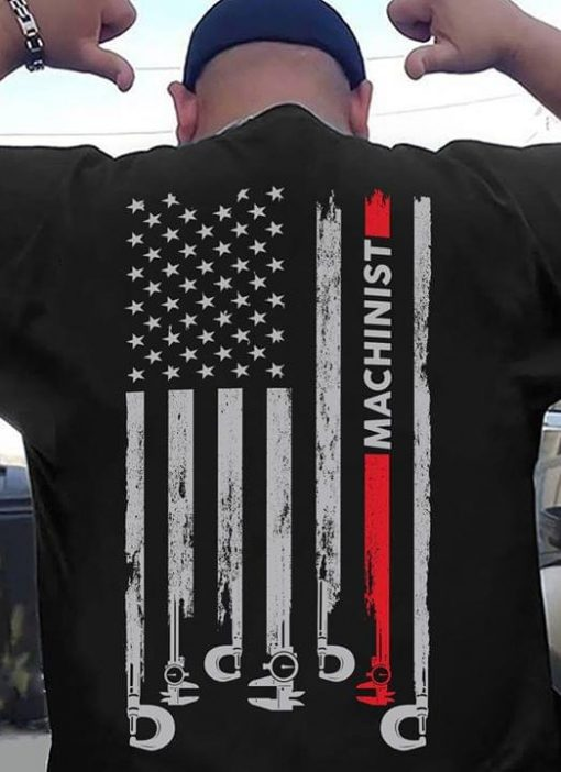 Machinist American Flag