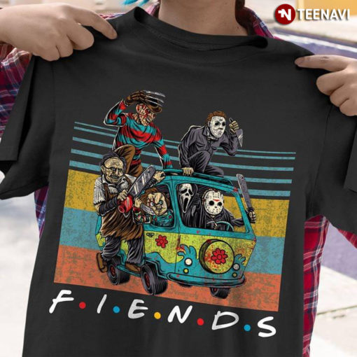 Car Horror Movie Characters Friends TV Show