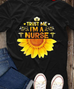 Trust Me I'm A Nurse Sunflower