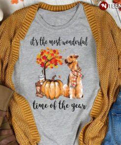 It's The Most Wonderful Time Of The Year Halloween Airedale Terrier