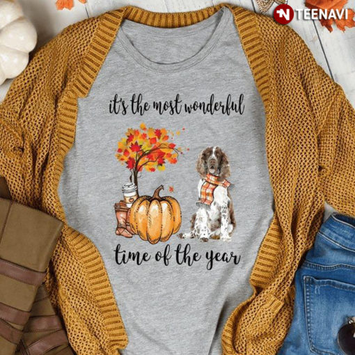 It's The Most Wonderful Time Of The Year English Springer Spaniel Dog