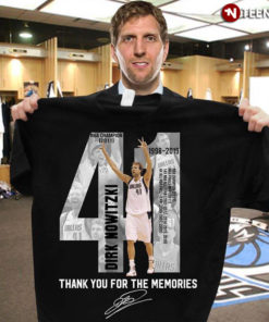 Dirk Nowitzki 1998-2019 Thank You For The Memories