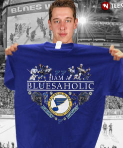 I Am A Bluesaholic St. Louis Blues