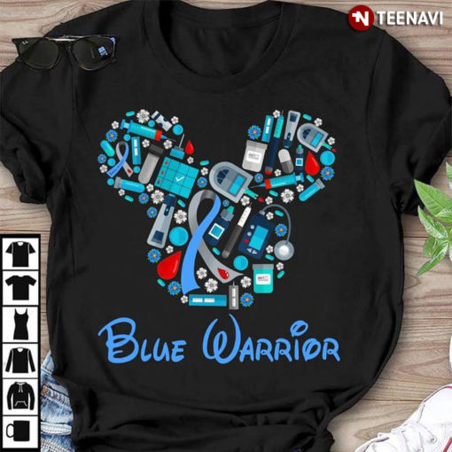 Blue Warrior Mickey Mouse Version