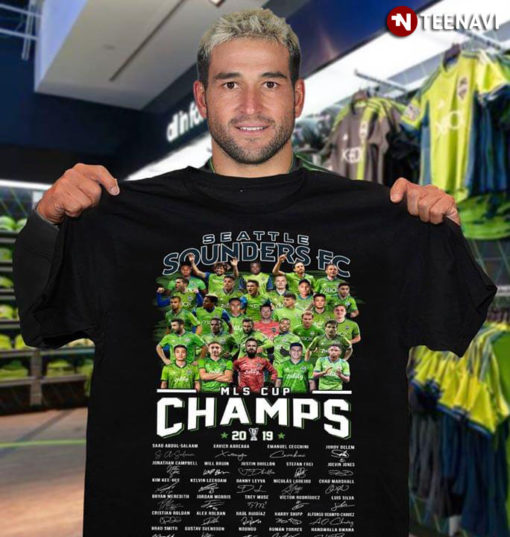 Seattle Sounders FC MLS Cup Champs 2019