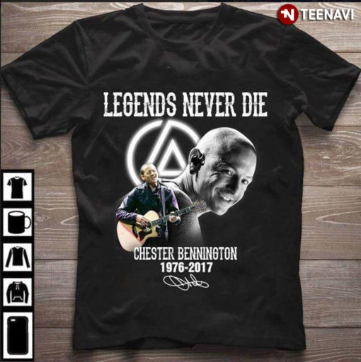 Legends Never Die Chester Bennington 1976-2017