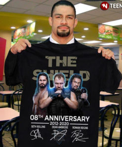 Wrestler The Shield 08Th Anniversary 2012-2020 Seth Rollins Dean Ambrose Roman Reigns
