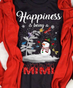 Happiness Is Being A Mimi Christmas